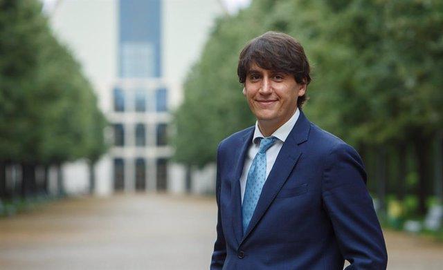 Archivo - Unai Belintxon, investigador de la UPNA, uno de los autores de un artículo sobre sostenibilidad en España y Europa ante el Pacto Verde Europeo.