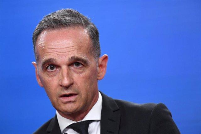 El ministro de Exteriores alemán, Heiko Maas