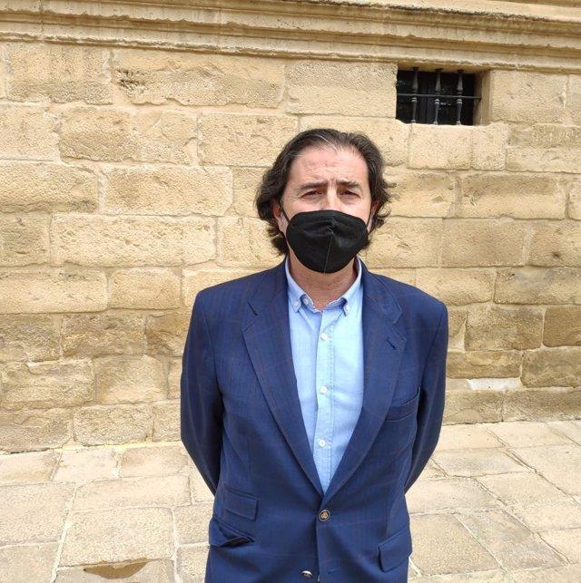 Archivo - El parlamentario andaluz de VOX por Jaén, Benito Morillo