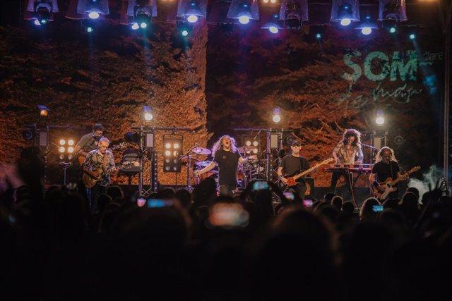 Sopa de Cabra tanca la segona edició del festival Som de Mar, que ha tingut un 75% d'ocupació i 4.200 assistents.