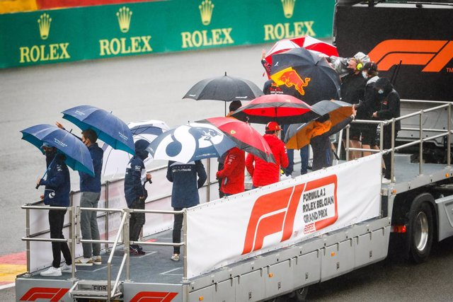 drivers parade during the Formula 1 Belgium Grand Prix, 12th round of the 2021 FIA Formula One World Championship from August 27 to 29, 2021 on the Circuit de Spa-Francorchamps, in Stavelot, near Liège, Belgium - Photo Antonin Vincent / DPPI