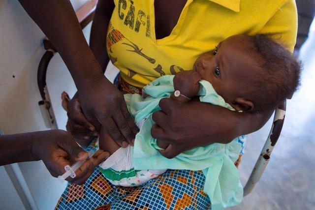 Un total de 257.541 niños están vacunados en África y Latinoamérica gracias a 363 empresas andaluzas a través de la Alianza para la Vacunación Infantil de la Fundación la Fundación 'la Caixa'