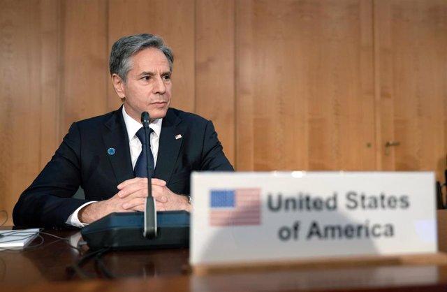 Archivo - El secretario de Estado estadounidense, Antony Blinken