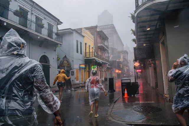 Paso del huracán 'Ida' por Nueva Orleans