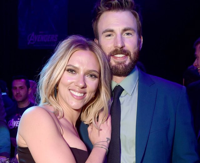 Archivo - Chris Evans y Scarlett Johansson, de nuevo juntos tras Vengadores: Endgame en Ghosted