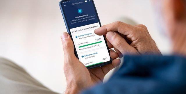 BBVA renueva su servicio de salud financiera a través de su 'app'