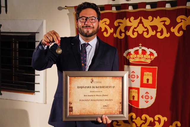 El tirador olímpico Alberto Fernández, Hijo Adoptivo de Illescas.