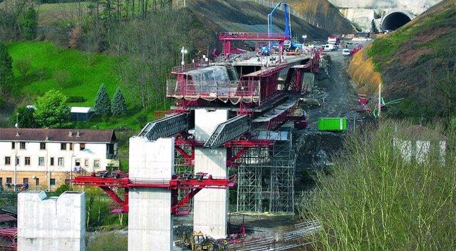 Obras de construcción en ingeniería civil