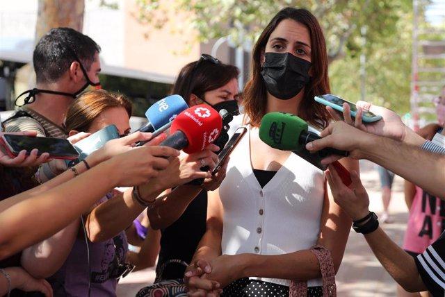 La portavoz de Más Madrid en el Ayuntamiento de Madrid, Rita Maestre