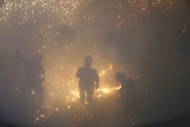Momento de La Cordà de Paterna (Valencia)