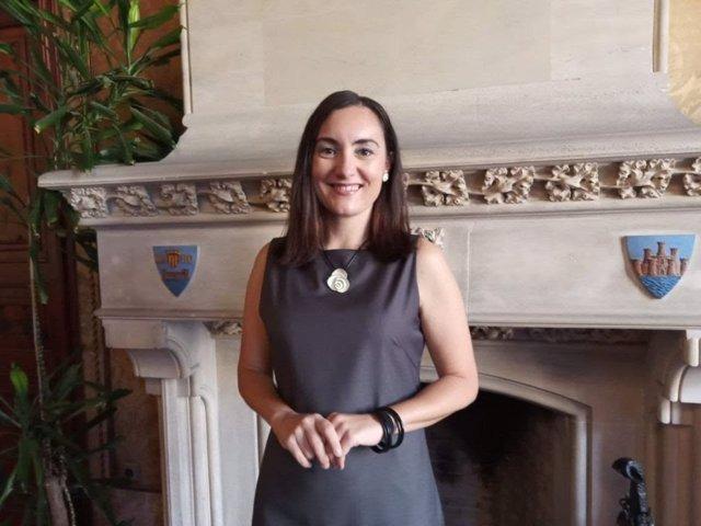 La portavoz de Ciudadanos (Cs) en el Consell de Mallorca, Beatriz Camiña.
