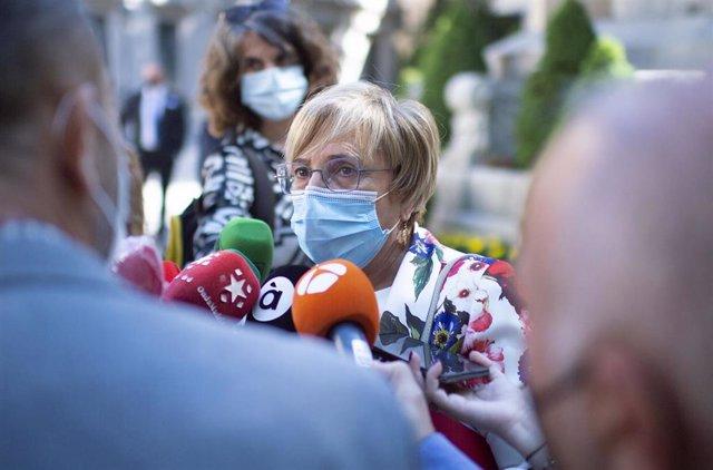 Archivo - La consellera de Sanidad, Ana Barceló, en una imagen de archivo