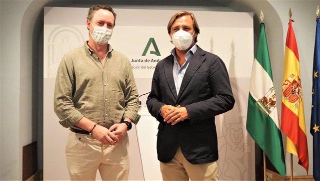 Antonio Repullo y Juan Ramon Pérez.