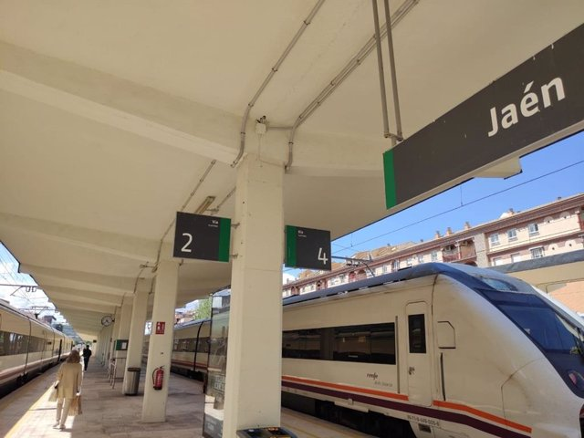 Estación de tren de Jaén capital