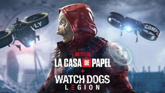 Misión de La Casa de Papel en Watch Dogs: Legion.