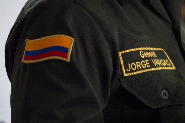 Archivo - Policía en Colombia.