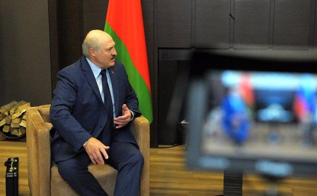 Archivo - El presidente bielorruso, Alexander Lukashenko.