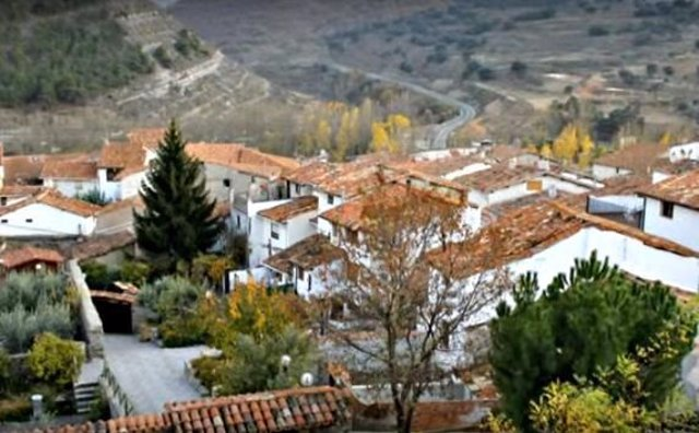 Vista general de Enciso (La Rioja)