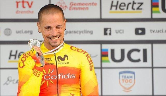 Archivo - Sergio Garrote, plata en el Mundial de ciclismo adaptado