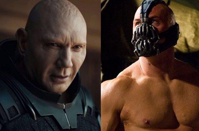 Así luce Dave Bautista como Bane, el bestial villano de Batman, si tuviera una serie en HBO Max