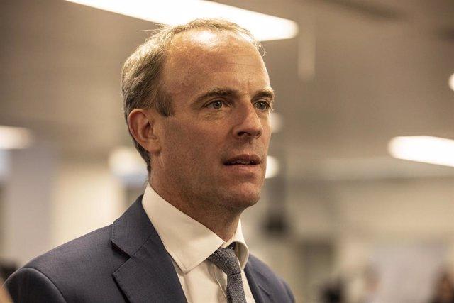 Dominic Raab, ministro de Exteriores británico.