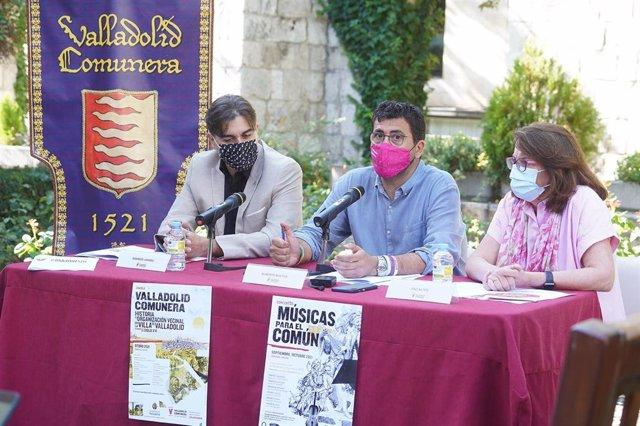 Acto de presentación de 'Valladolid Comunera'.