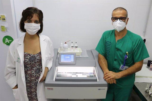 Archivo - El Hospital Serranía de Ronda obtiene resultados de anatomía patológica en 20 minutos con un nuevo criostato