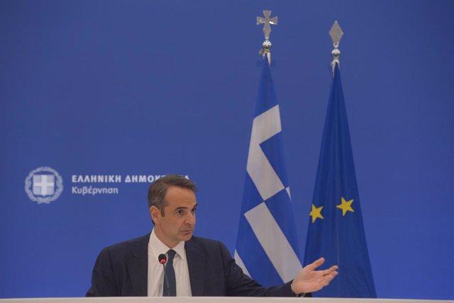 Kyriakos Mitsotakis, primer ministro de Grecia