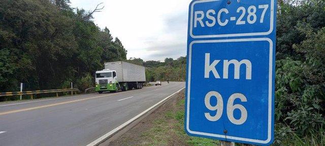 Carretera de Sacyr en Brasil