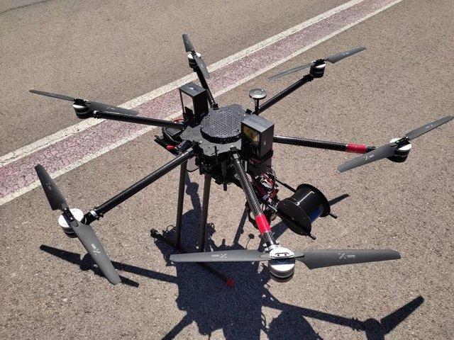 Vodafone realiza el primer vuelo de un dron 5G en la banda de frecuencia de 700 MHz
