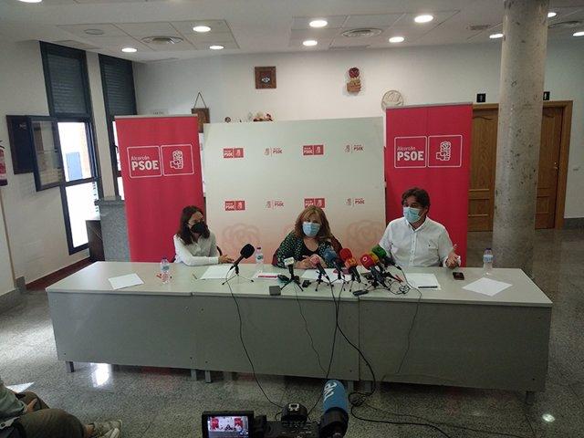 Los alcaldes de Alcorcón, Fuenlabrada y Getafe lanzan una web para rearmar el PSOE-M