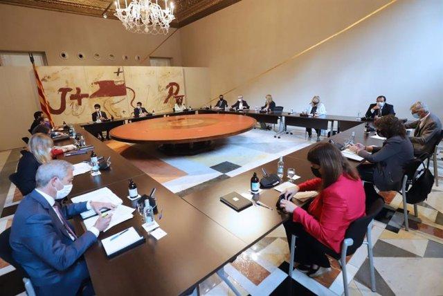 Reunió del Consell Executiu del 31 d'agost.
