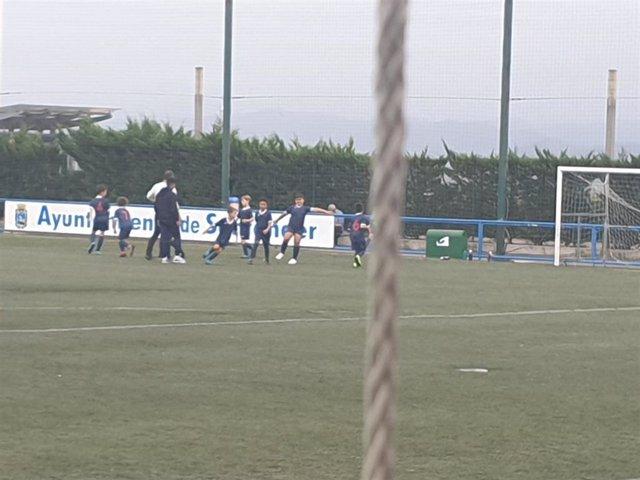 Archivo - Campo de fútbol de Monte