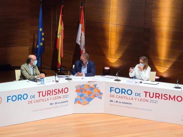 Acto de clausura del acto de presentación del nuevo canal de comunicación turística.