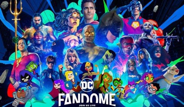 The Batman, Black Adam y The Flash, cabezas de cartel de la DC Fandome 2021