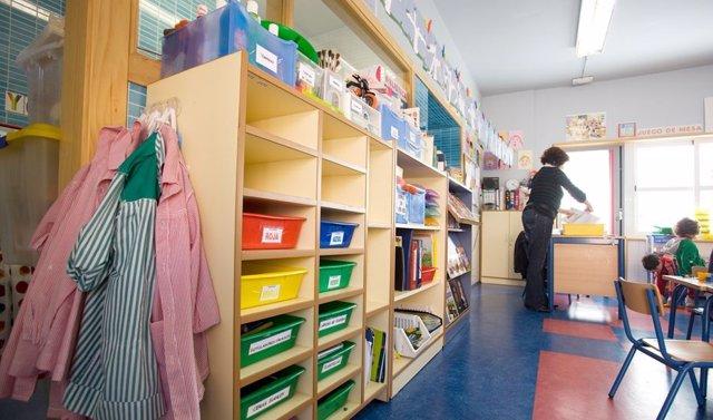 Archivo - Imagen de archivo de un aula de Infantil