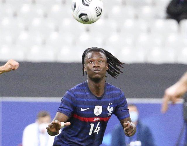 Eduardo Camavinga con la selección francesa