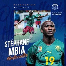Stephane Mbia, nuevo jugador del Fuenlabrada CF