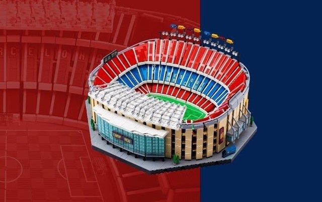 Set del estadio del FC Barcelona, el Camp Nou, de la marca LEGO, a la venta a partir del 1 de septiembre de 2021