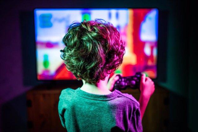 Archivo - Niños y pantallas