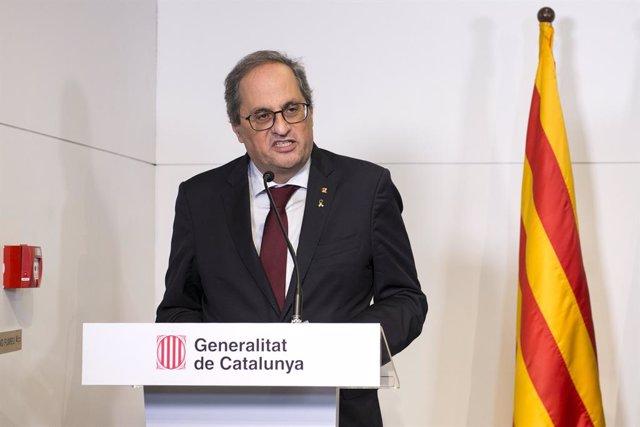 Archivo - Arxiu - L'expresident de la Generalitat de Catalunya Quim Torra