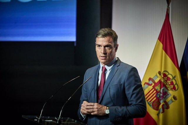 El president del Govern central, Pedro Sánchez