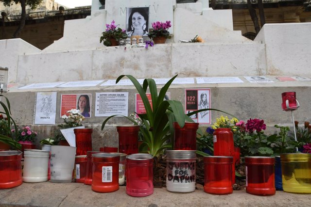 Archivo - Homenaje a Daphne Caruana Galiza