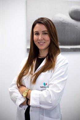 Natalia Cárdenas, directora de la nueva Unidad de Medicina Estética en Quirónsalud Campo de Gibraltar