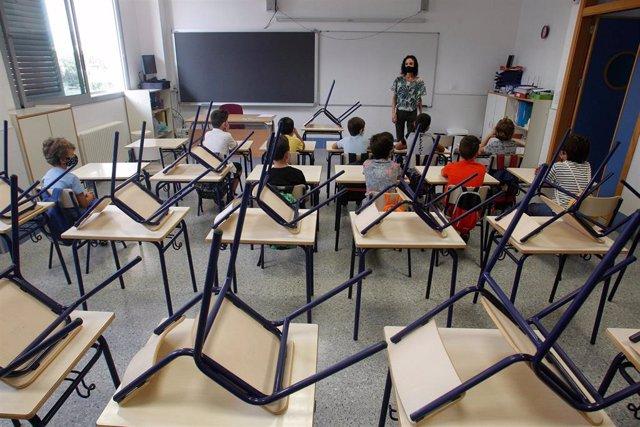 Archivo - Imagen de recurso de un aula