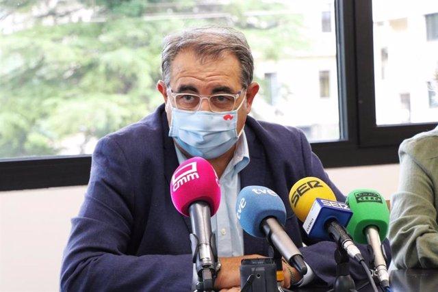 El consejero de Sanidad, Jesús Fernández Sanz, participa en una jornada preparatoria sobre Sanidad y Despoblación celebrada en la ciudad de Cuenca.
