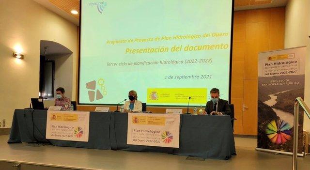Jornada de la CHD sobre el Plan Hidrológico del Duero.