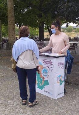 Votación en Medina de Rioseco.