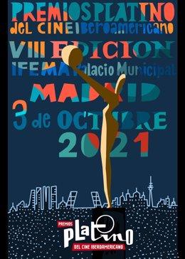 Javier Mariscal diseña el cartel de la VIII Edición de los 'Premios Platino'