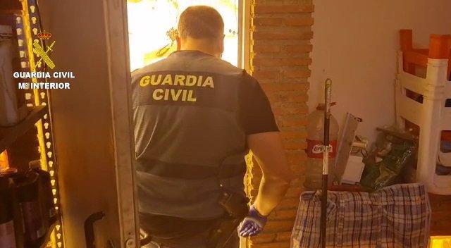 Guardia civil, en operación contra la droga